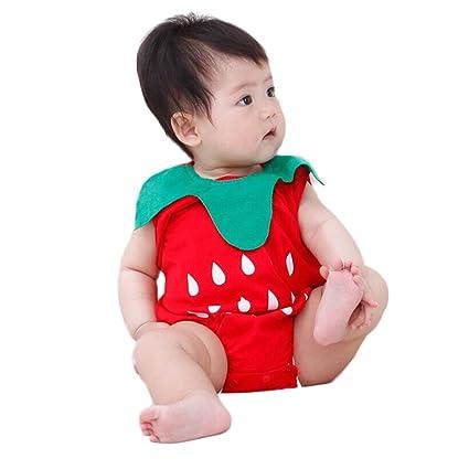 fd5ccd47ef6e0 子供服 ベビー服 男の子 ロンパース 女の子 カバーオール 果物 イチゴ スイカ パイナップル 可愛い 着ぐるみ ボディスーツ一