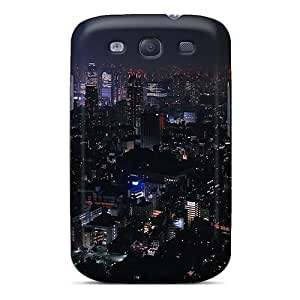 Tpu Fashionable Design A Night In Tokyo Rugged Case Cover For Galaxy S3 New