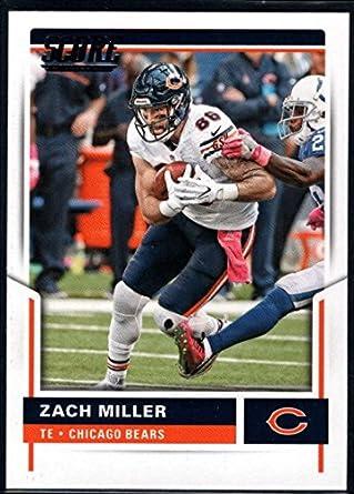 the best attitude c6a74 87a96 Amazon.com: Football NFL 2017 Score #7 Zach Miller Bears ...