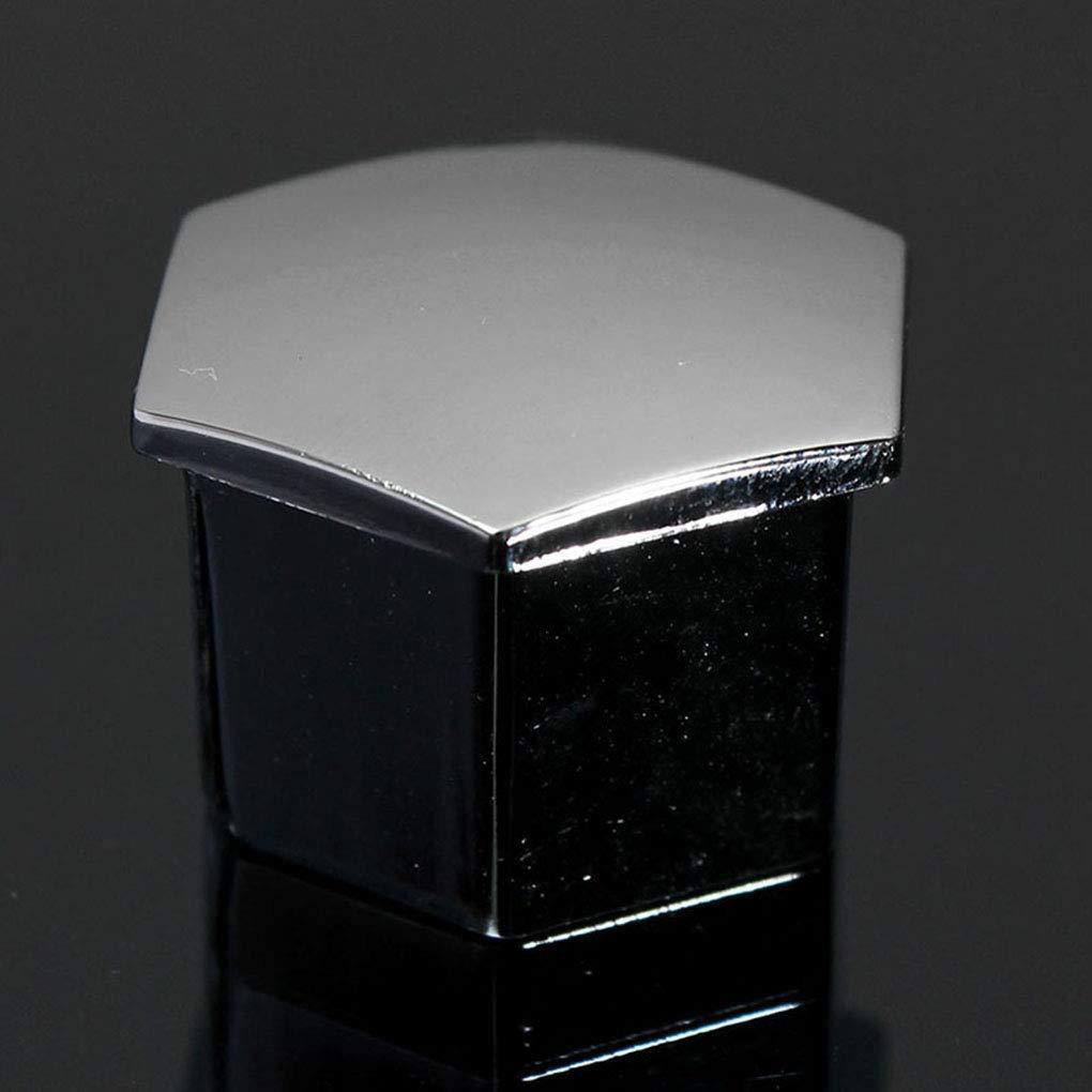 Tuerca de Rueda de Coche 16PCS Perno de plástico Cubiertas Casquillos de Repuesto para Peugeot 207 307 308 407 408 2008: Amazon.es: Hogar
