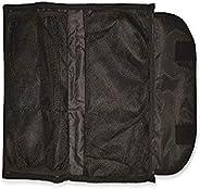 Reusch Soccer Adult's Multi Compartment Goalkeeper Glove Bag, Black, 19&qu