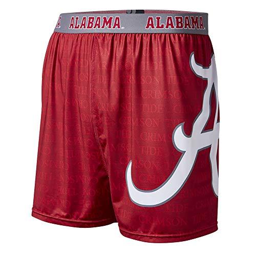 FANDEMICS NCAA University of Alabama Mens Boxer Short, Mens X-Large (40-42)
