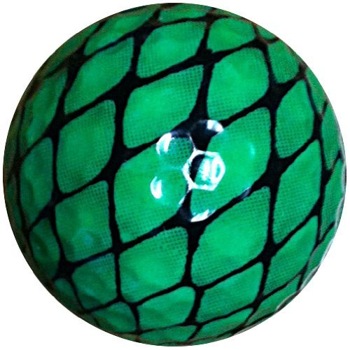 GBM Golf Animal Novelty 3 Ball Sleeve, Green Snake [並行輸入品] B072JRRKW7
