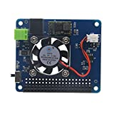 MakerFocus Raspberry Pi Power Expansion Board and Programmable Smart Temperature Control Fan for Raspberry Pi 3 2B B+