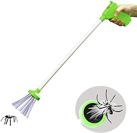 BASON Spider Catcher, Critter Catcher, Spider & Insect Catcher Todos Los Creepy Crawlies con Facilidad Sin Acercarse A Ellos Usando El Sistema Especial Trapdoor: Amazon.es: Jardín
