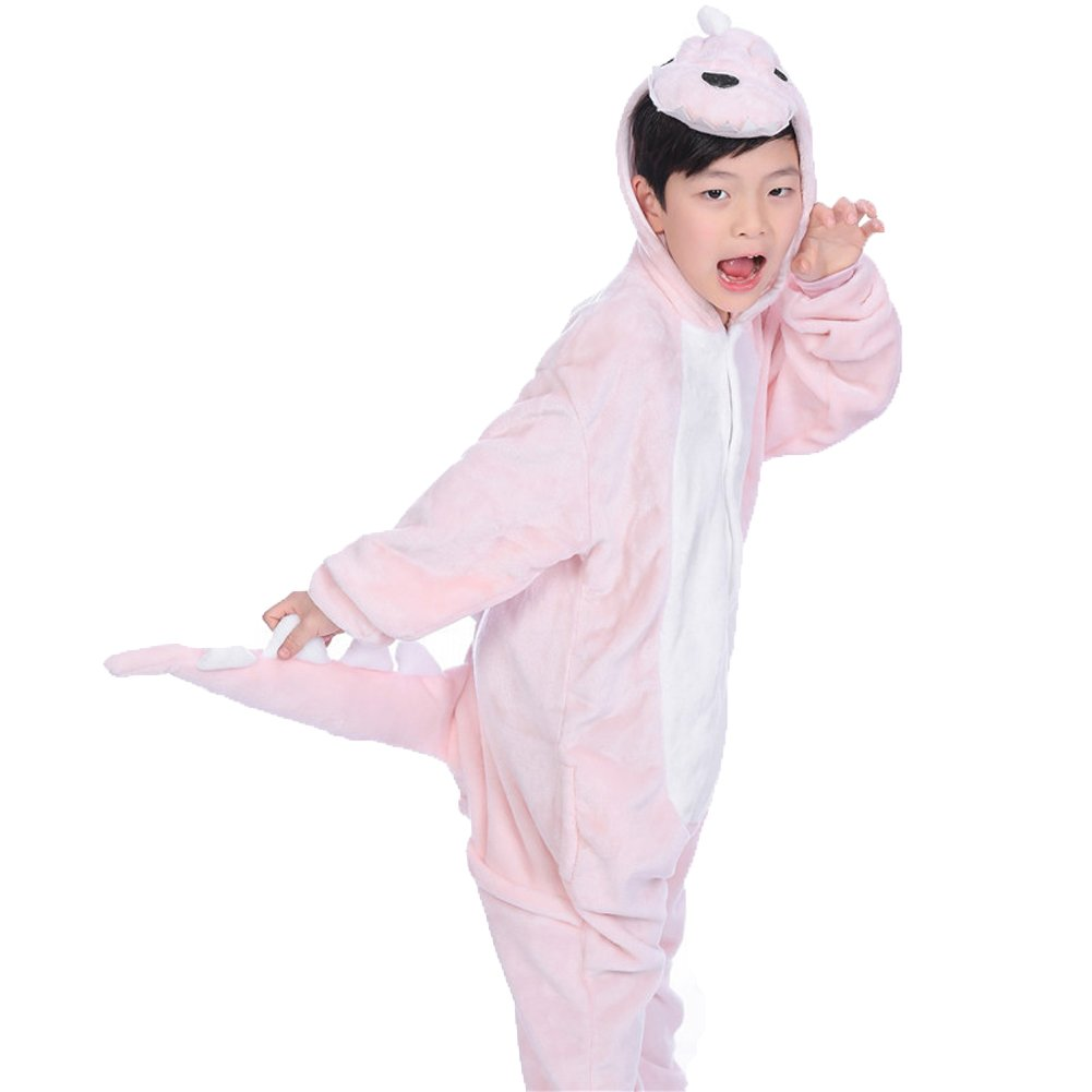 FloYoung Kids Onesie Cartoon Pajamas Cosplay Animal Halloween Costume Sleepsuit FY-KidSLW02