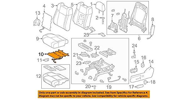 Genuine Hyundai 88260-2C200-GAA Seat Cushion Covering Front