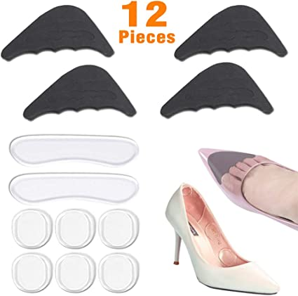 2 Pair Shoe Filler Insole Unisex Toe Shoe Sizing Insert Shoe Inserts To Make Big Shoes Fit