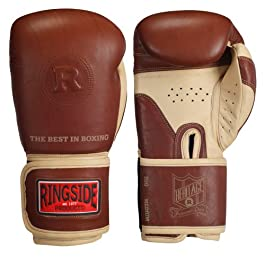 Ringside Heritage Sparring Gloves, Tan