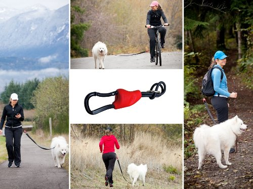 Buddy - Hands free dog leash connector - biking, jogging, hiking, walking