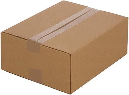 25 Cajas de cartón plegables 320 x 250 x 120 mm, Embalaje Envío Caja de De cartón corrugado Caja cartón Caja Envío por correo: Amazon.es: Oficina y papelería