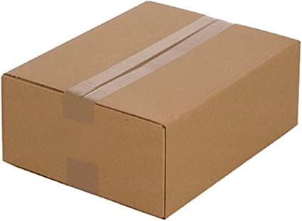 25 Cajas de cartón plegables 320 x 250 x 120 mm, Embalaje Envío ...