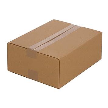 25 Cajas de cartón plegables 320 x 250 x 120 mm, Embalaje Envío Caja de De cartón corrugado Caja cartón Caja Envío por correo: Amazon.es: Oficina y ...