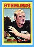 : Terry Bradshaw 1972 Topps Football Reprint Card (Steelers)