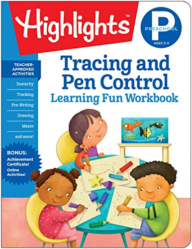Preschool Tracing and Pen Control (Highlights(TM) Learning Fun Workbooks) ()