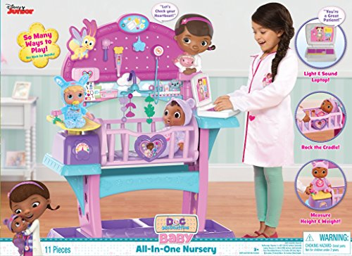 Doc McStuffins Baby All in One Nursery Toy]()