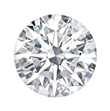 Charles&Colvard Forever One™ Hearts&Arrows Colorless Loose Created Round(VS-VVS) Moissanite-8.5mm