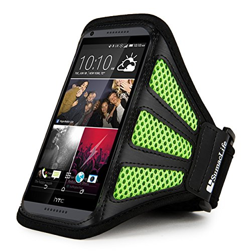 Sports Armband for HTC Desire Eye (Black) - 1