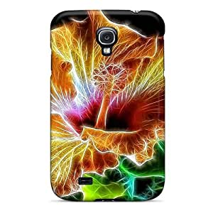 Tpu DaMMeke Shockproof Scratcheproof Hibiscus Beauty Hard Case Cover For Galaxy S4 by icecream design