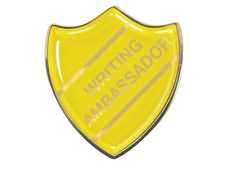 Capricornone 10x School Council Gel Domed School Bar Badges