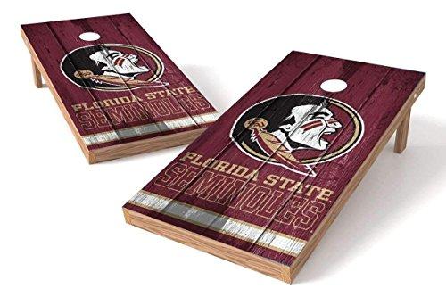 PROLINE NCAA College 2' x 4' Florida State Seminoles Cornhole Board Set - Vintage