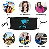 Mr Bea-st Pm2.5 Face Bandana For Kids Boys And