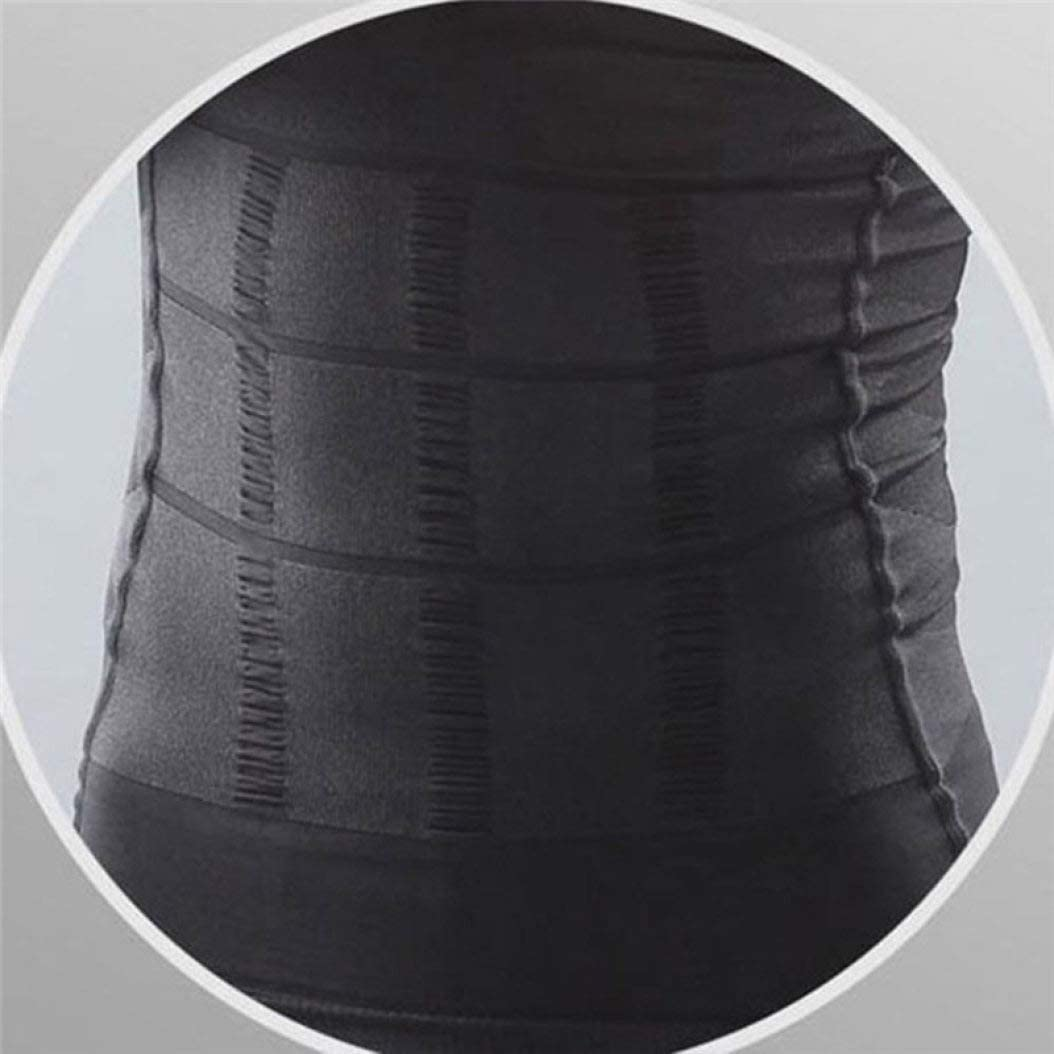 ASO-SLING Men Compression Shirt Slimming Body Shaper Vest Undershirts Tank Tops