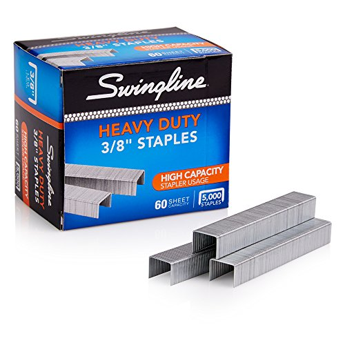 Swingline 79398 S.F. 39 Heavy-Duty 3/8 Leg Length Staples 60