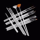GTNINE Nail Art Brushes Design Dotting Painting
