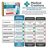 Suture Practice Kit by Medical Creations - with