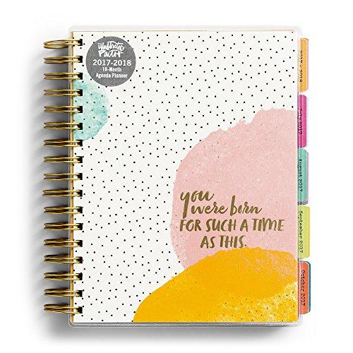 2018 Agenda Planner   Illustrated Faith