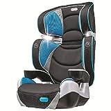 Evenflo Right Fit Capri Booster Car Seats, Black/Grey/Blue