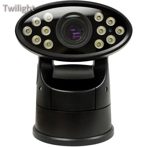 Marshall Electronics VS-WC363 36x Zoom Day/Night WDR Outdoor Rugged IR PTZ Camera with Heater & Fan (Black)