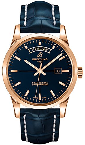Breitling Transocean Day Date Mens Watch (Breitling Date Wrist Watch)