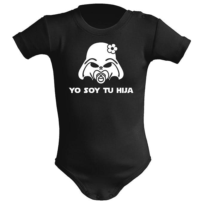 Body bebé unisex Yo soy tu hija (Star wars/Darth Vader - Yo soy