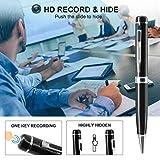 Hidden Pen Camera Spy Pen Camera HD 1080P Clip On