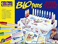 Blopens Blo Pens Super Activity Center 15 Pens + Schablonen