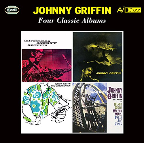 Sessions Cd Album - Four Classic Albums (Introducing Johnny Griffin / A Blowing Session / The Congregation / Way Out) / Johnny Griffin