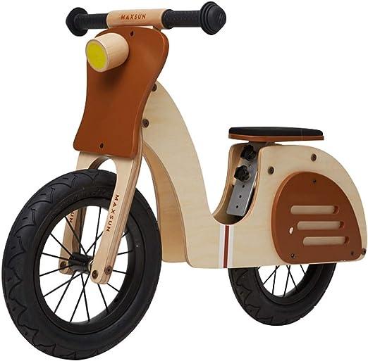 Bicicleta sin pedales Bici Bicicleta de Equilibrio de Madera - Sin ...