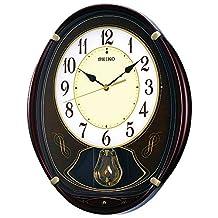 SEIKO CLOCK ( Seiko clock ) wall clock radio clock 6 songs melody AM248B