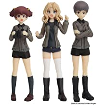 Girl und Panzer the movie Saunders University High School Figure Set 1/35 Scale No Foam Urethane Resin unpainted kit Kei Naomi Arisa