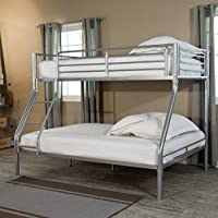 Duro Hanley Silver Bunk Bed (Twin over Full)