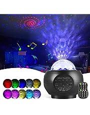Projektor LED gwiaździstego nieba, lampka nocna Galaxy Projektor, Starry Projector Light z głośnikiem Bluetooth