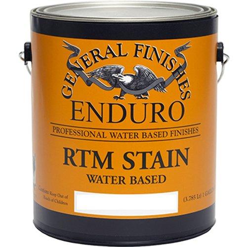 - General Finishes Enduro RTM Water Based Wood Stain, 1 Quart, Burnt Umber