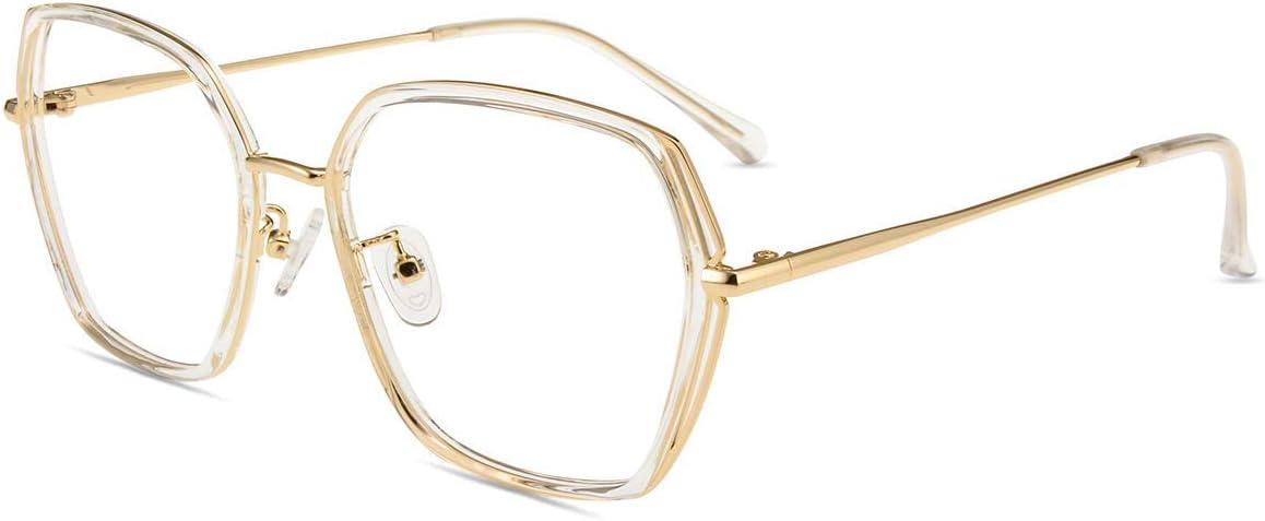 Entspiegelt Blaulicht UV Schutzbrille Acetate Bunt Firmoo Blaulichtfilter Brille Ohne Sehst/ärke Damen Katzenaugen Retro Computerbrille gegen Blaulicht M/üdigkeit