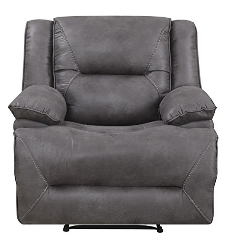 Mstar Everly Power Recliner with USB Charging Port and Memory Foam Seat Topper For Sale