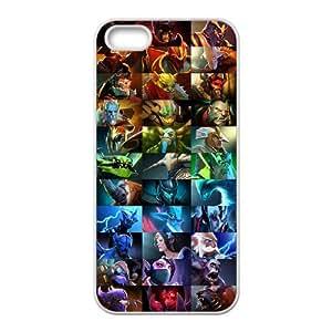 Cell Phone case dota 2 Cover Custom Case For iPhone 5, 5S MK9Q953176