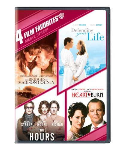 (4 Film Favorites: Meryl Streep (The Bridges of Madison County, Defending Your Life, The Hours,)