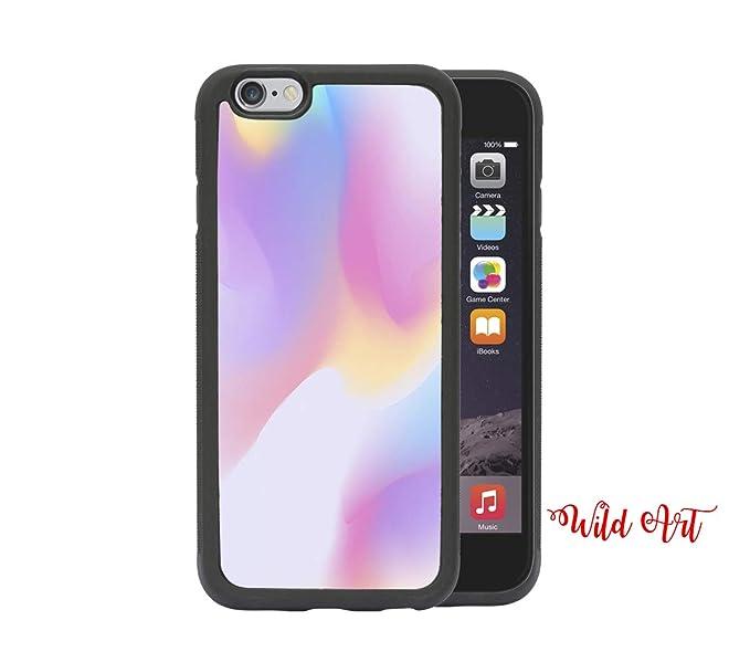 Amazon com: iPhone 6 CASE - Pastel Color Smoke Cool Artsy