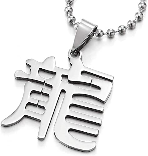 collier homme chinois